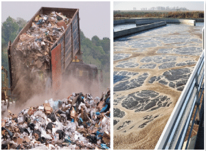 Odor Control in Garbage and Wastewater