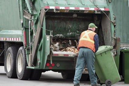 Waste Handling Equipment Odor Elimination